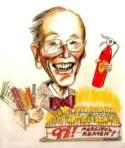 97th Birthday Caricature