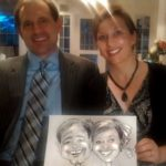 Bride and Groom - Caricatures