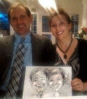 Bride and Groom Caricatures