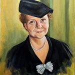 Frances Perkins - Oil
