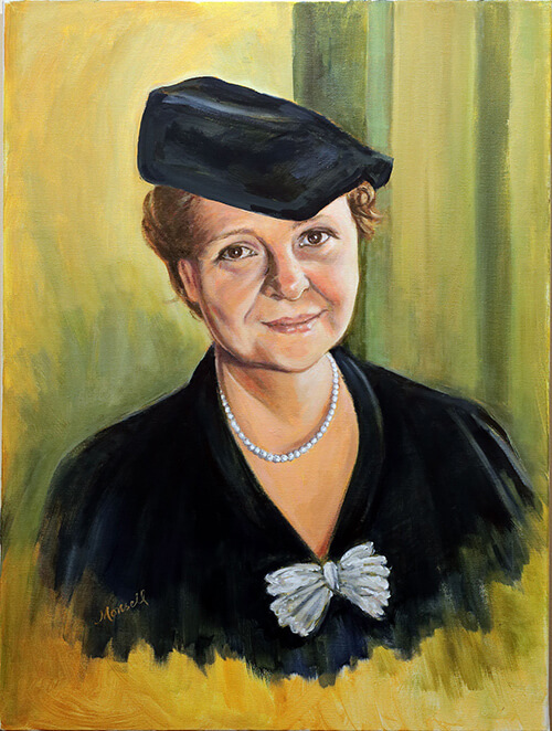 Frances Perkins - Oil