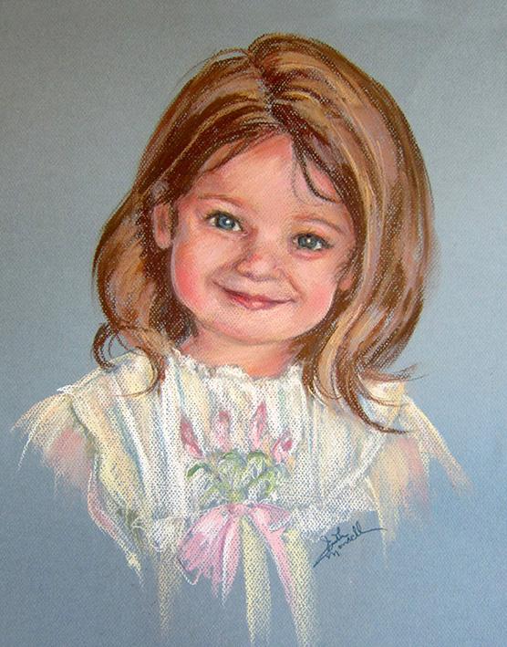 Portrait of Maddie - Pastel Portrait
