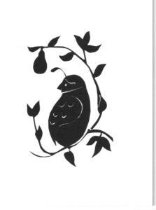 Partridge Silhouette