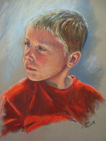 Portrait of Andrew - Pastel Portrait