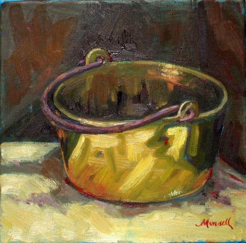 Antique Brass Oil