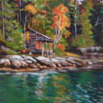 Cabin on the Damariscotta - Acrylic