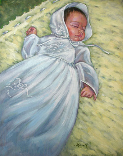Christening Portrait