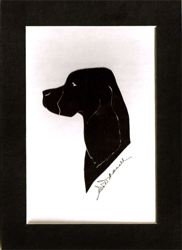 Cocker Spaniel Dog Silhouette