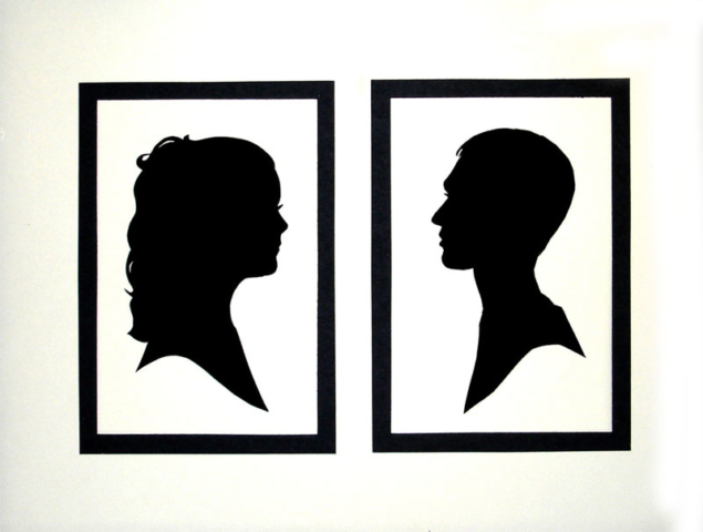 Couples Silhouette