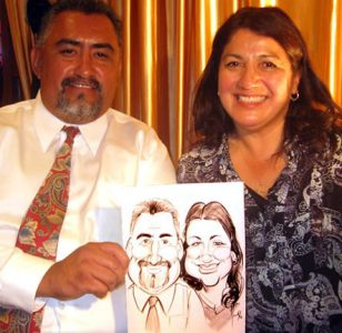 Party Sample Caricatures