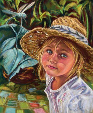 Portrait of Lauren Pastel Portrait