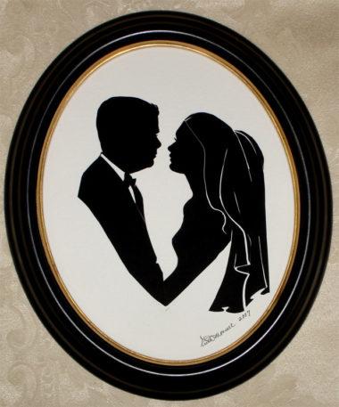 Wedding Couple - Silhouette