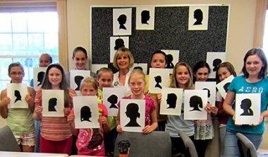 Workshop with New Silhouette Artists