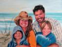 Family Portrait - Pastel Portrait