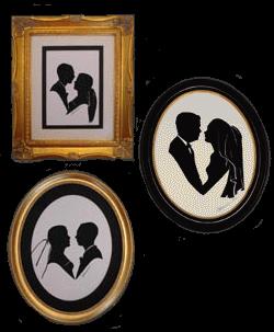 Silhouette Bridal Frames
