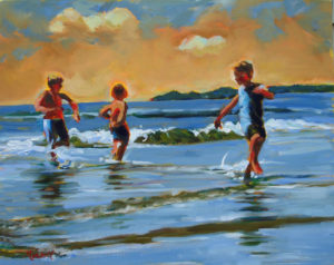 Golden Beach Boys Oil