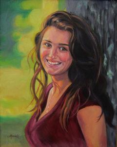 Portrait of Renata - Oil Portrait