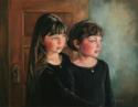 On the Threshold - Oil on Linen Portrait