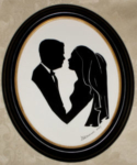 Wedding Couple Silhouette